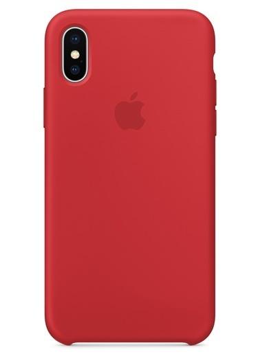 iPhone X Sert Silikon Kapak-Apple